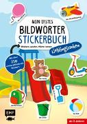 Cover-Bild zu Edition Michael Fischer (Hrsg.): Mein erstes Bildwörter-Stickerbuch - Lieblingssachen