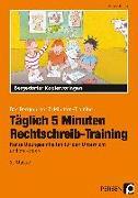 Cover-Bild zu Täglich 5 Minuten Rechtschreib-Training - 2.Klasse von Hohmann, Karin