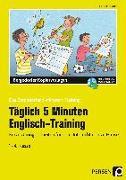 Cover-Bild zu Täglich 5 Minuten Englisch-Training von Jebautzke, Kirstin