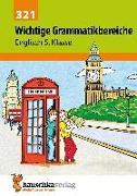 Cover-Bild zu Waas, Ludwig: Englisch. Wichtige Grammatikbereiche (1. Englischjahr)