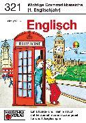 Cover-Bild zu Waas, Ludwig: Wichtige Grammatikbereiche. Englisch 5. Klasse (eBook)