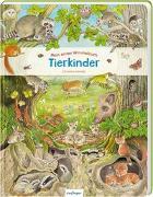 Cover-Bild zu Henkel, Christine (Illustr.): Mein erstes Wimmelbuch: Tierkinder