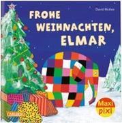 Cover-Bild zu McKee, David: Maxi Pixi 299: VE 5 Frohe Weihnachten, Elmar! (5 Exemplare)