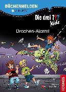 Cover-Bild zu Blanck, Ulf: Die drei ??? Kids, Bücherhelden 2. Klasse, Drachen-Alarm! (drei Fragezeichen Kids) (eBook)