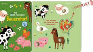 Cover-Bild zu Mein Sound-Puzzle Buch von Paruit, Marie (Illustr.)