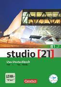Cover-Bild zu Studio [21], Grundstufe, B1: Teilband 2, Das Deutschbuch (Kurs- und Übungsbuch), Mit E-Book auf scook.de und Materialdownload auf cornelsen.de/codes von Funk, Hermann