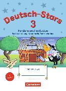Cover-Bild zu Deutsch-Stars - Allgemeine Ausgabe. 3. Schuljahr - Fördern und Inklusion von Dolenc-Petz, Ruth