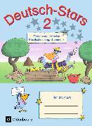 Cover-Bild zu Deutsch-Stars 2. Schuljahr. Allgemeine Ausgabe. Fördern und Inklusion. Übungsheft mit Lösungen von Dolenc-Petz, Ruth