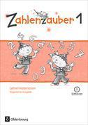 Cover-Bild zu Zahlenzauber 1. Schuljahr. Lehrermaterialien Ordner von Kullen, Christine