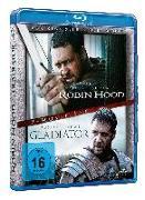 Cover-Bild zu Joaquin Phoenix (Schausp.): Doppelpack Robin Hood Dir. Cut/Gladiator Ext
