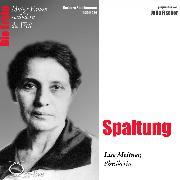 Cover-Bild zu Spaltung - Die Physikerin Lise Meitner (Audio Download) von Sichtermann, Barbara