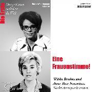 Cover-Bild zu Eine Frauenstimme! Die Nachrichtensprecherinnen Wibke Bruhns & Anne-Rose Neumann (Audio Download) von Sichtermann, Barbara
