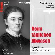 Cover-Bild zu Beim täglichen Abwasch - Agnes Pockels und die Schieberrinne (Audio Download) von Sichtermann, Barbara