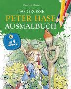 Cover-Bild zu Das große Peter-Hase-Ausmalbuch von Potter, Beatrix