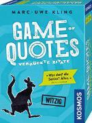 Cover-Bild zu Kling, Marc-Uwe: Game of Quotes - Verrückte Zitate
