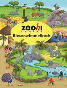Cover-Bild zu Zoo Zürich Riesenwimmelbuch von Görtler, Carolin (Illustr.)