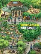 Cover-Bild zu Wimmelbuch Zoo Basel von Brüchler, Mirco (Illustr.)
