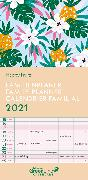 Cover-Bild zu teNeues Calendars & Stationery GmbH & Co. KG: GreenLine Happy Fruits 2021 Familienplaner - Familien-Kalender - Wandkalender - 22x45