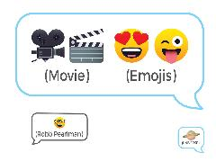 Cover-Bild zu Pearlman, Robb: Movie Emojis
