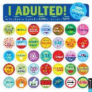 Cover-Bild zu Pearlman, Robb: I Adulted! 16-Month 2020-2021 Wall Calendar
