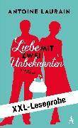 Cover-Bild zu Laurain, Antoine: XXL-LESEPROBE: Laurain - Liebe mit zwei Unbekannten (eBook)
