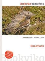 Cover-Bild zu Russell, Jesse (Hrsg.): Snowfinch