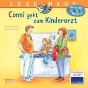 Cover-Bild zu Schneider, Liane: LESEMAUS 132: Conni geht zum Kinderarzt