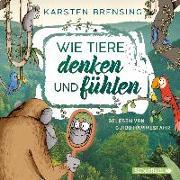 Cover-Bild zu Brensing, Karsten: Wie Tiere denken und fühlen