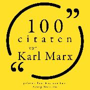 Cover-Bild zu 100 citaten van Karl Marx (Audio Download) von Marx, Karl