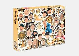 Cover-Bild zu de Sousa, Chantel (Illustr.): The Tiger King Puzzle: 500 piece jigsaw puzzle