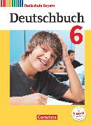 Cover-Bild zu Baulig, Sonja: Deutschbuch, Sprach- und Lesebuch, Realschule Bayern 2017, 6. Jahrgangsstufe, Schülerbuch