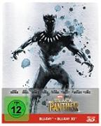 Cover-Bild zu Coogler, Ryan (Reg.): Black Panther - 3D+2D - Steelbook - limititerte Auflage