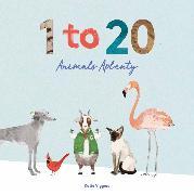 Cover-Bild zu Viggers, Katie: 1 to 20 Animals Aplenty