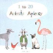 Cover-Bild zu Viggers, Katie: 1 to 20, Animals Aplenty