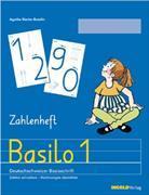 Cover-Bild zu Basilo 1. Zahlenheft Deutschschweizer Basisschrift von Bromundt, Corinne