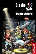 Cover-Bild zu Pfeiffer, Boris: Die drei ??? Kids, 77, Die Musikdiebe (drei Fragezeichen Kids) (eBook)
