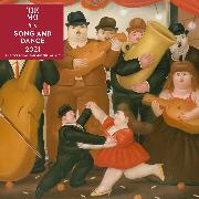Cover-Bild zu The Metropolitan Museum Of Art: Song and Dance 2021 Wall Calendar