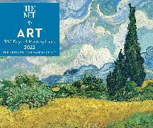 Cover-Bild zu The Metropolitan Museum Of Art: Art: 365 Days of Masterpieces 2022 Day-to-Day Calendar