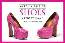 Cover-Bild zu The Metropolitan Museum of Art (Geschaffen): Match a Pair of Shoes Memory Game