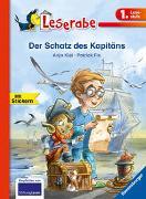 Cover-Bild zu Der Schatz des Kapitäns - Leserabe 1. Klasse - Erstlesebuch für Kinder ab 6 Jahren von Kiel, Anja