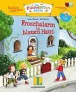 Cover-Bild zu Froschalarm im blauen Haus - Buch mit digitalem Add-on und Hörspiel-CD von Niessen, Susan