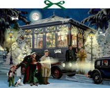 Cover-Bild zu Zettelkalender - Weihnachten mit Agatha Christie von Niessen, Susan