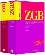 Cover-Bild zu Büchler, Andrea (Hrsg.): TEXTO Kombipaket ZGB, OR