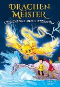 Cover-Bild zu West, Tracey: Drachenmeister Band 7 - Die Suche nach dem Blitzdrachen