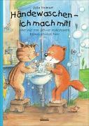 Cover-Bild zu Händewaschen - ich mach mit oder Wie man sich vor ansteckenden Keimen schützen kann! Bilderbuch übers richtige Händewaschen, inkl. Hust- und Nies-Etikette! von Volmert, Julia
