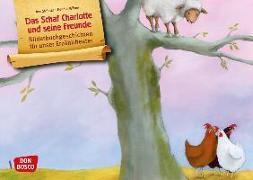 Cover-Bild zu Das Schaf Charlotte und seine Freunde. Kamishibai Bildkartenset von Stohner, Anu