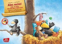 Cover-Bild zu Der kleine Rabe Socke: Alles meins! Kamishibai Bildkartenset von Moost, Nele