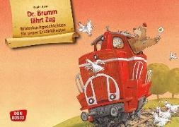 Cover-Bild zu Dr. Brumm fährt Zug. Kamishibai Bildkartenset von Napp, Daniel