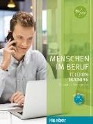 Cover-Bild zu Menschen im Beruf B1/B2. Telefontraining. Kursbuch mit Audio-CD von Hering, Axel
