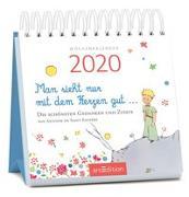 Cover-Bild zu Miniwochenkalender Man sieht nur mit dem Herzen gut ... 2020 - kleiner Aufstellkalender mit Wochenkalendarium